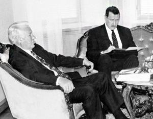 Дмитрий Рюриков на протяжении десятилетий участвовал в переговорах лидеров СССР и России