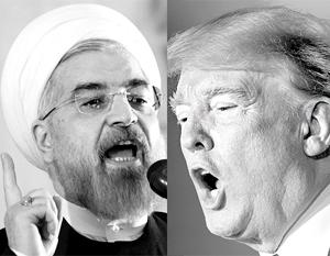Трамп «наорал» на Роухани капсом в Twitter в ответ на предостережения от развязывания войны с Ираном