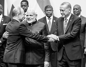 Турция сближается с БРИКС