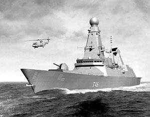 Эсминец HMS Daring