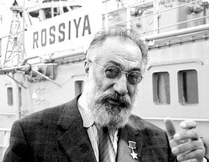 Возглавляет экпедицию почетный полярник, вице-спикер Госдумы Артур Чилингаров