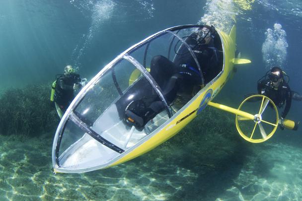 Как сделать подводною лодку