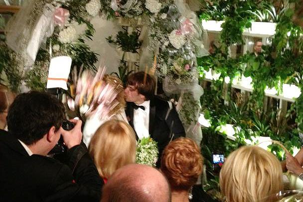 Со свадьбы пугачевой и галкина