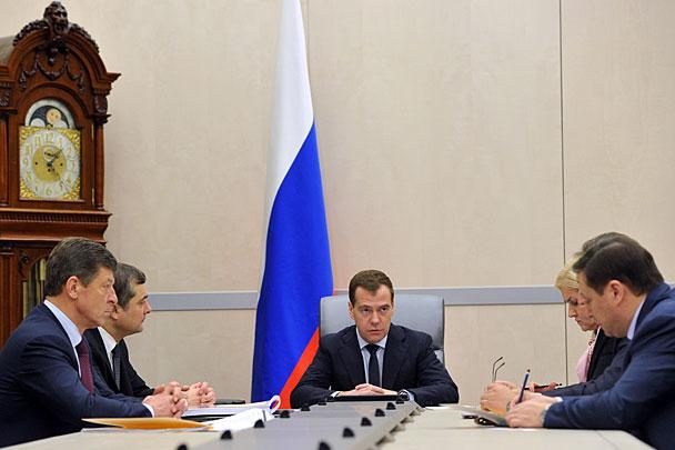 кабинет медведева фото