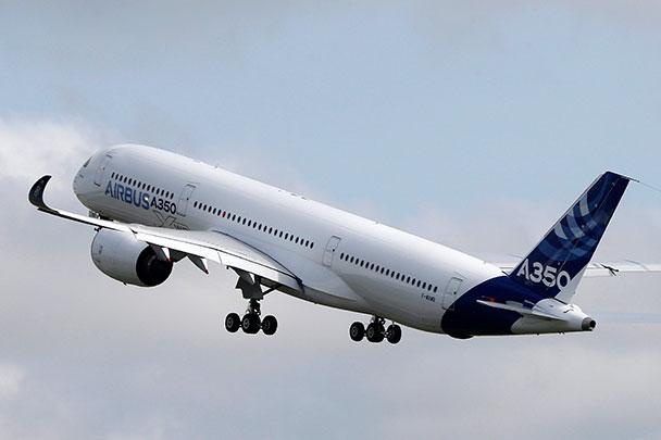 ВЗГЛЯД / Airbus испытал новый самолет А350
