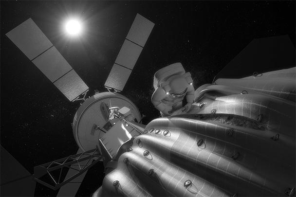 НАСА опубликовало компьютерную графику захвата в космосе астероида и перенаправления его на околоземную орбиту. «Пленение» астероида планируется ради научных целей. Для успешной операции небесное тело должно вращаться вокруг Солнца, а его размер не должен превышать девяти метров в диаметре
