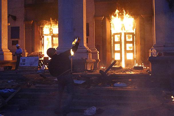 Волкер забыл про трагедию в Доме профсоюзов в Одессе