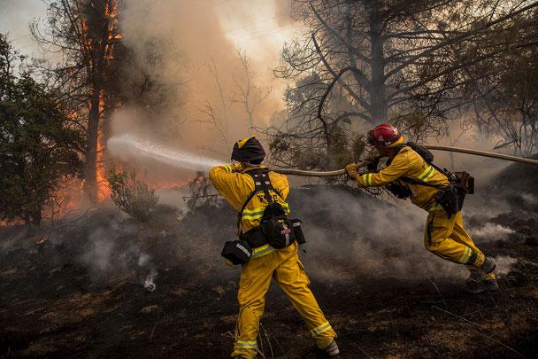 Կալիֆորնիայի անտառներում հրդեհ է բռնկվել