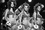 В Киеве прошел финал юбилейного, 25-го конкурса красоты «Мисс Украина». В 2015 году победительницей стала 18-летняя киевлянка Кристина Столока (крайняя слева) – студентка университета пищевых технологий. Кроме короны она получила приз в размере 250 тыс. гривен (примерно 760 тыс. рублей)