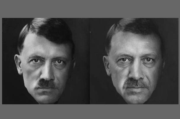 Трагедия с российским бомбардировщиком, сбитым турецким истребителем, всколыхнула интернет. Пользователи соцсетей разразились коллажами на президента Турции Реджепа Эрдогана. Его сравнивают с самыми одиозными историческими персонажами, а также припоминают, что Владимир Путин назвал поведение Анкары «ударом ножом в спину»