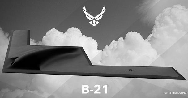 ВВС США представили дизайн своего перспективного дальнего бомбардировщика LRS-B (B-21), разработкой которого занимается Northrop Grumman. Предполагается, что самолет придет на смену современным американским стратегическим бомбардировщикам