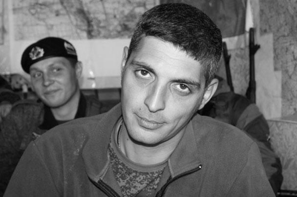 Ополченец Донецкой народной республики Михаил Толстых с позывным «Гиви» погиб от выстрела пехотного огнемета «Шмель» в собственном кабинете. Он получил известность летом 2014 года во время боев за родной Иловайск, ему тогда было 34 года