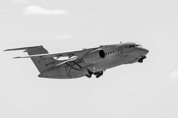 Пассажирский самолет Ан-148 «Саратовских авиалиний» с бортовым номером RA-61704 потерпел крушение после вылета из московского аэропорта Домодедово в Орск. Фото из архива, октябрь 2017 года