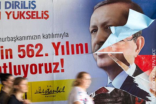 Провал партии Эрдогана на выборах ставит крест на его президентской карьере