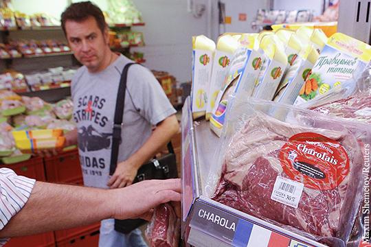 Запрещенные продукты будут попадать в россию через третьи страны