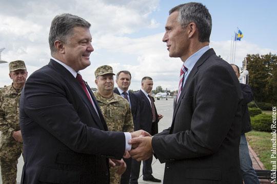 Порошенко: Украина и НАТО близки как никогда