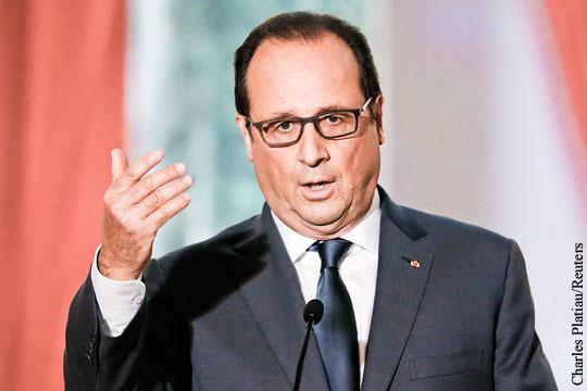 Олланд пригрозил Восточной Европе санкциями