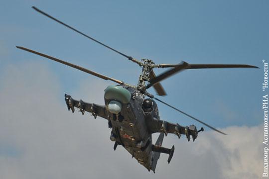 Источник: Россия и Египет договорились о поставке 50 вертолетов Ка-52
