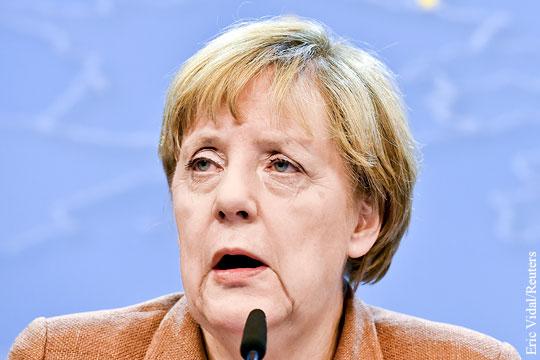 Меркель: Асад должен участвовать в переговорах по Сирии