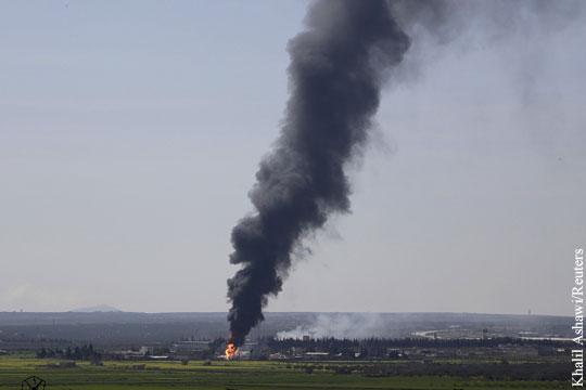 Коалиция США нанесла удары по удерживаемым ИГ объектам нефтедобычи в Сирии