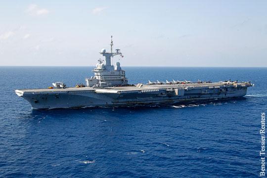 Франция объявила о намерении отправить на борьбу с ИГ авианосец