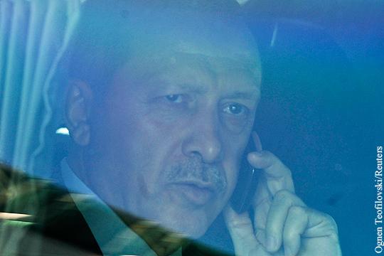 Эрдоган: После инцидента с Су-24 звонил Путину, но тот не ответил