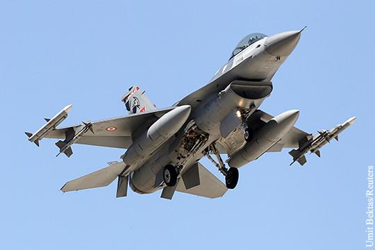 Турция нанесла авиаудар по приграничной иракской территории