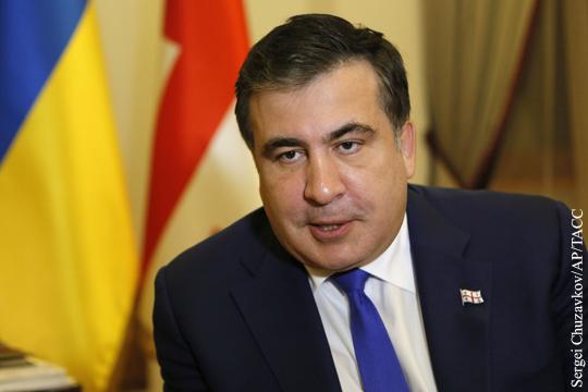 Депутат Рады: Саакашвили просит поддержки парламента в назначении премьером Украины