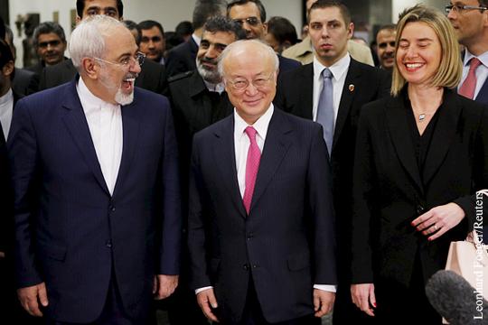 ООН, США и Евросоюз сняли санкции с Ирана
