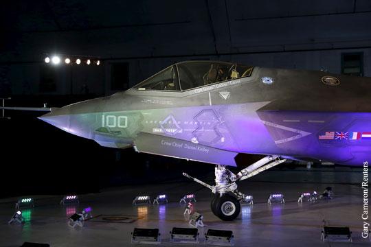 Почему суперсовременный истребитель F-35 оказался настолько плох