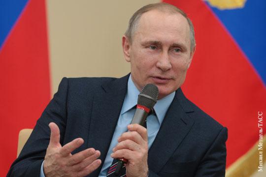 Путин: В России не может быть иной объединяющей идеи, кроме патриотизма