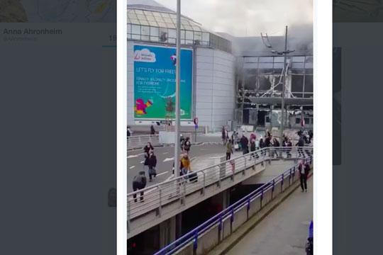 В результате взрывов в аэропорту Брюсселя погибли 14 человек, 30 ранены