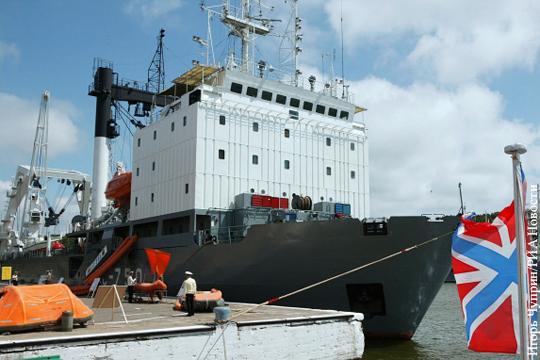 судно технической поддержки подводной лодки сс-750