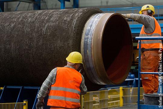 Берлин заявил о невозможности предоставления ЕС мандата по «Северному потоку - 2»
