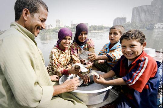 Высокая рождаемость разоряет Египет