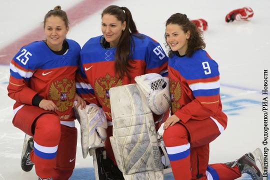 Женский хоккей россия канада