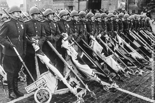 Фото с Парада Победы оказалось запрещено законом