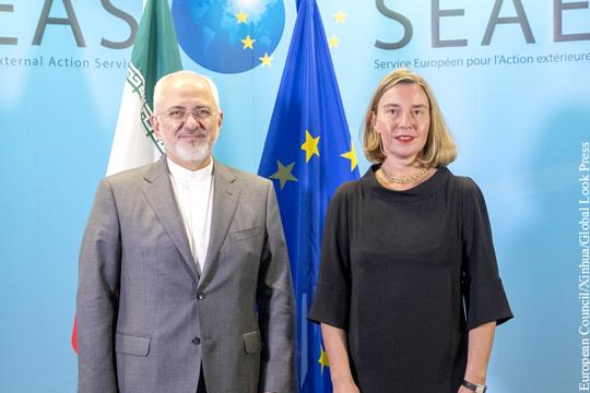ЕС и Иран решили активизировать экономическое сотрудничество