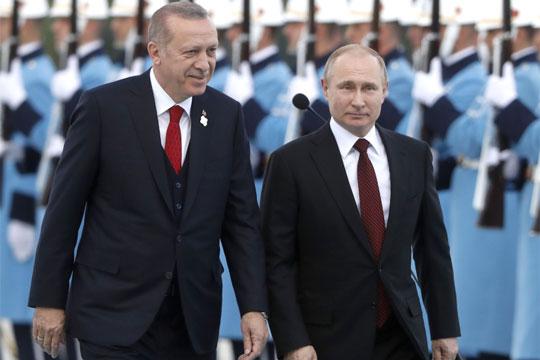 Эрдоган назвал себя и Путина самыми опытными политиками в ГА ООН