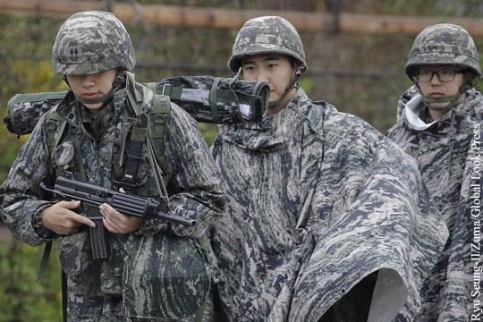 Ряд военных учений США и Южной Кореи приостановлен