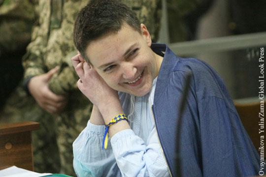 Савченко предсказала, что Киев «получит по зубам и с Запада, и с Востока»