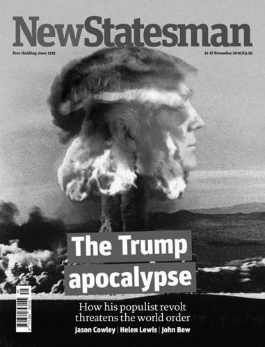 Изощренную фантазию продемонстрировали дизайнеры ведущих западных газет и журналов, проиллюстрировавших на своих обложках главное событие года – избрание нового президента США