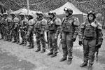 Пехота на построении(фото: Павел Герасимов/РИА «Новости»)