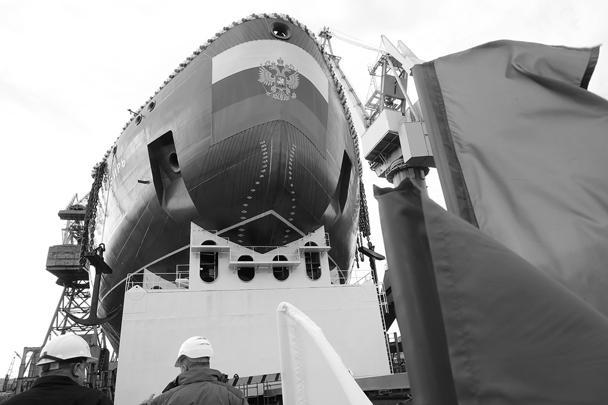 Первый серийный ледокол проекта 22220 «Сибирь» был заложен 26 мая 2015 года