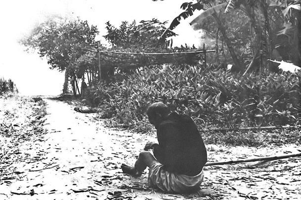 В Сонгми не было боев, это была карательная акция против безоружных крестьян Южного Вьетнама. В сторону американских солдат не было произведено ни одного выстрела