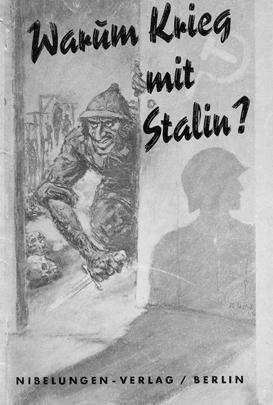 А здесь нацисты пытаются объяснить, что война с СССР нужна в качестве превентивной меры