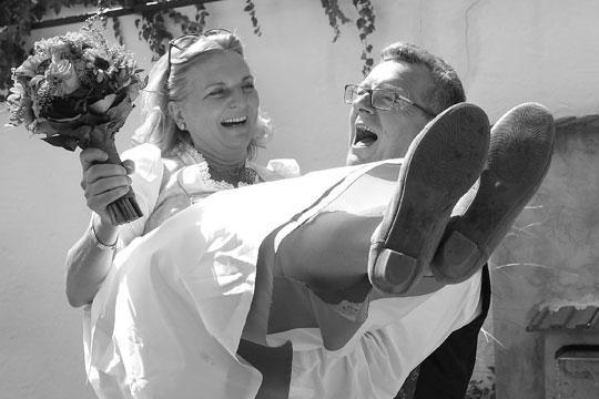 Для Карин Кнайсль это один из самых счастливых дней в жизни