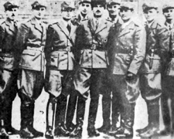 Группа карпатских «сечевиков» во главе с комендантом Дмитрием Климпушем (фото: Public domain)