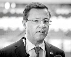 Дмитрий Азаров, врио губернатора Самарской области (фото: Maxim Shemetov/Reuters)