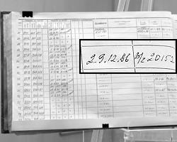 Документы из архива МО (фото: Антон  Новодережкин/ТАСС)